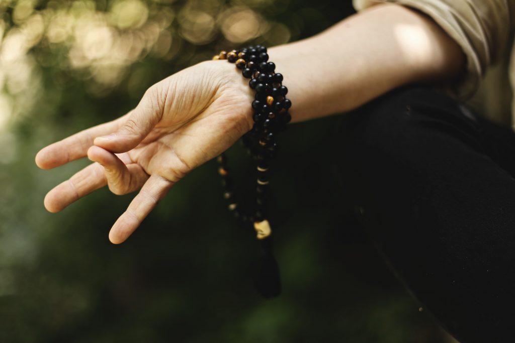 Finger abspreizen